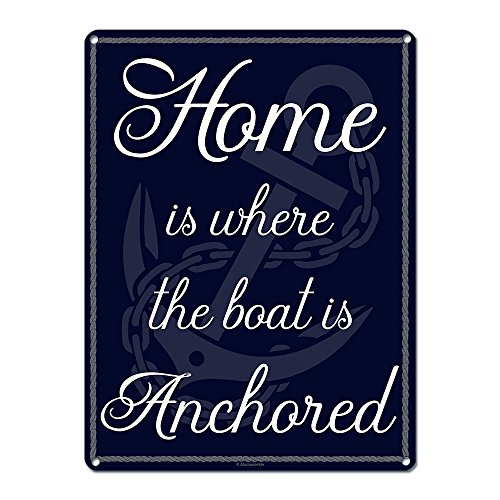 Home is Where the Boat is Anchored ~ Nautical Decor Theme ~ 9