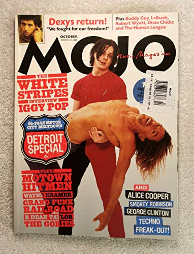 The White Stripes (Jack White) Interview Iggy Pop - Mojo Magazine - Issue #119 - October 2003 - Detroit Special: 50 page Motor City Meltdown