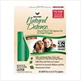 Sentry Natural Defense Natural Flea and Tick Squeeze-On for Dogs and Puppies 40-Pound and Over
