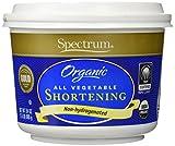 Spectrum Organic All Vegetable Shortening 24 Oz - 2 Pack