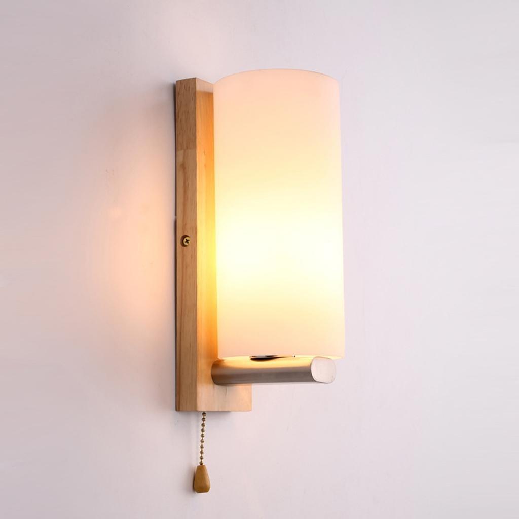 Camera da letto comodino lampada navata laterale della lampada da parete semplice moderna europea