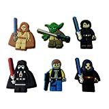 Lego Movie Shoe Charms 6 Pcs Set #9