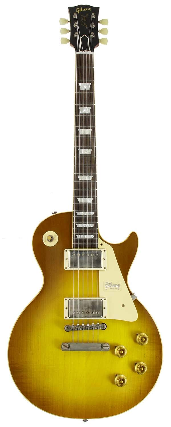 Gibson CUSTOM SHOP ギブソン エレキギター Historic Collection 1958 Les Paul Standard VOS Royal Teaburst 【SN.881275】   B07R3WCV1H