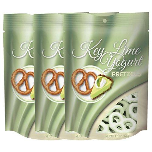 Truly Good Foods Key Lime Yogurt Pretzels - 3 pack, 4.5oz SUR bags