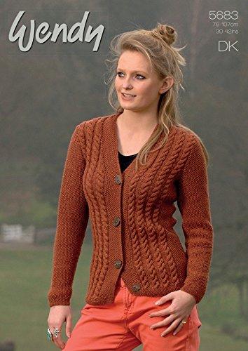 2692936259fc Wendy Ladies Cardigan Merino   Mode Knitting Pattern 5683 DK  Amazon.co.uk   Kitchen   Home