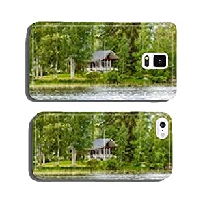 Cottage by the lake in rural Finland cell phone cover case Samsung S5