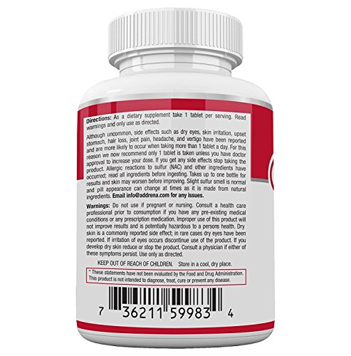 Acnetame- Vitamin Supplements for Acne Treatment, 60 Natural Pills