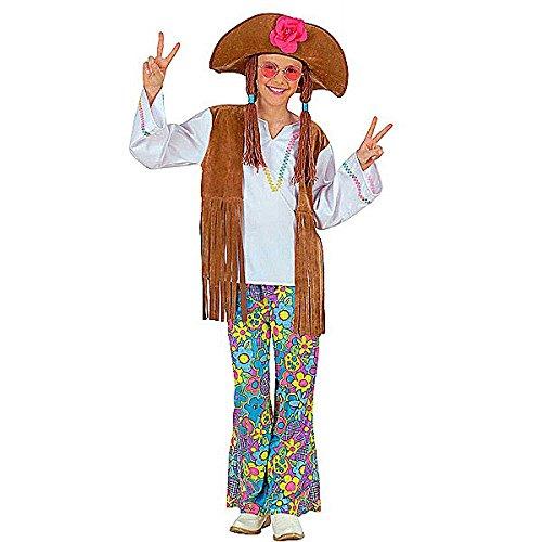 Woodstock Girl Costumes (Large Girls Woodstock Hippie Costume)