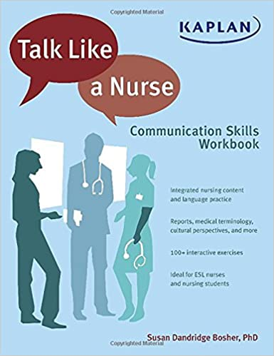 Talk like a nurse communication skills workbook 9781618654502 talk like a nurse communication skills workbook workbook edition fandeluxe Choice Image