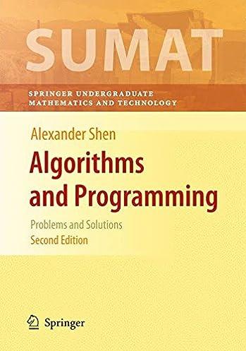 solution manual for algorithms and programming user manual guide u2022 rh userguidedirect today Algorithm Icon Algorithm Symbols
