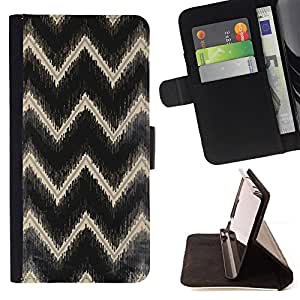 Jordan Colourful Shop - gold black reflective pattern For Apple Iphone 6 PLUS 5.5 - Leather Case Absorci???¡¯???€????€????????&