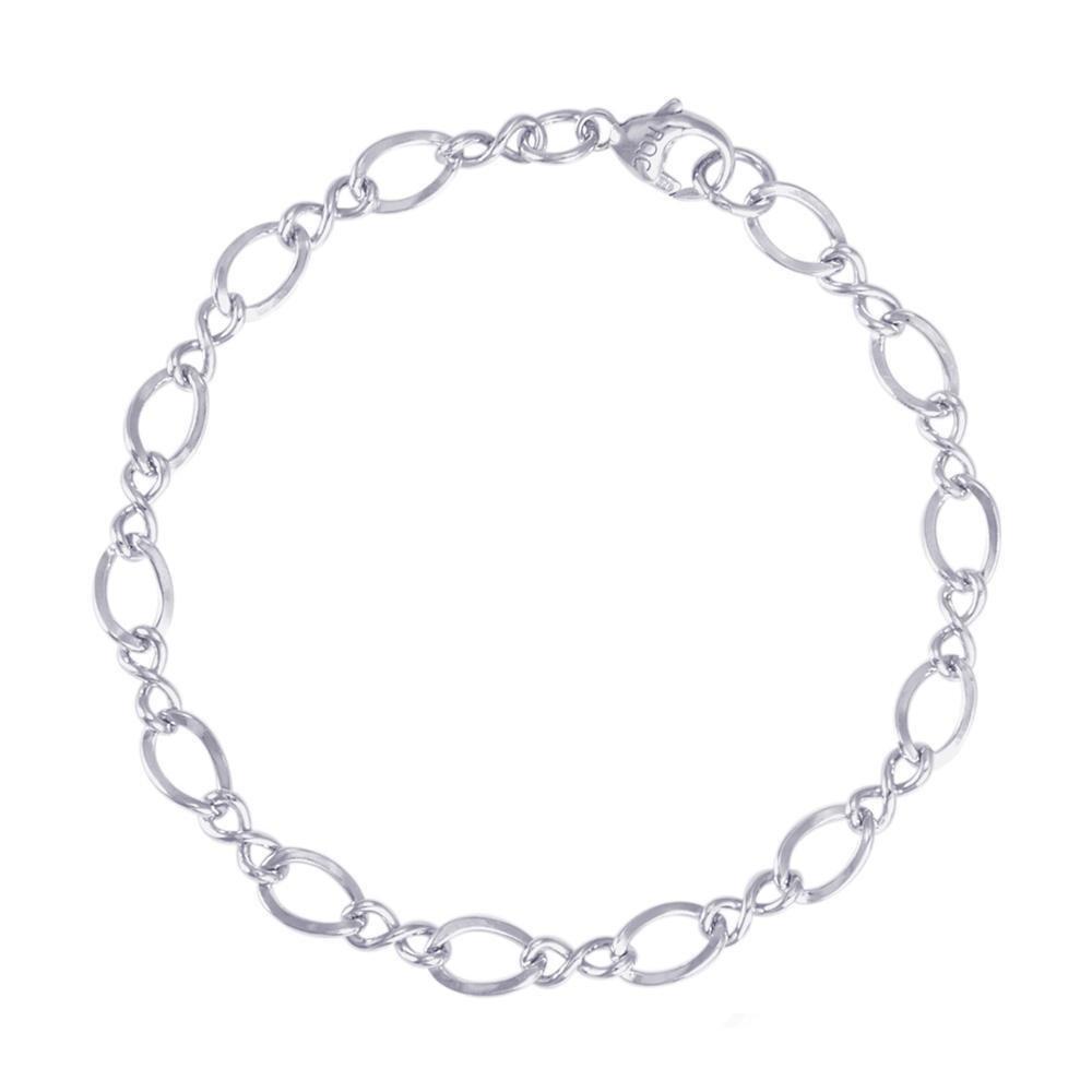 Rembrandt Sterling Silver Bracelet 7 inches