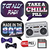 1980s Throwback 80s Party Theme Photo Booth Props