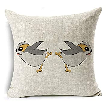 Amazon.com: Isabel Saenz Cushion Cover 45x45cm Cotton Linen ...