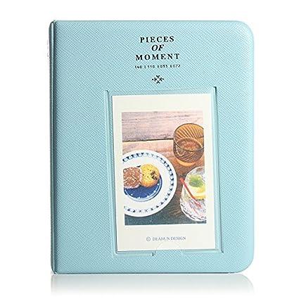 Album Photo Photographie Image 64Pochettes Pour Polaroid Fuji Film Instax Mini BLEU