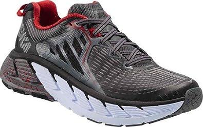 848584cc50569 HOKA ONE ONE Men's Gaviota Running Shoe (12 EE US, Black/Formula One ...