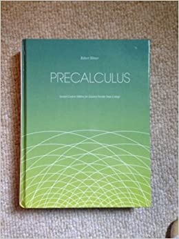 Precalculus robert blitzer 9781269862806 amazon books fandeluxe Choice Image