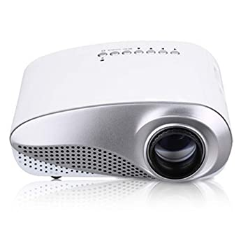HaiQianXin Mini proyector LED portátil 720P HDMI/USB/SD/TF Tarjeta ...