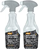 Seventh Generation Granite and Stone Cleaner, Mandarin Orange, 18 Ounces, 2 pk