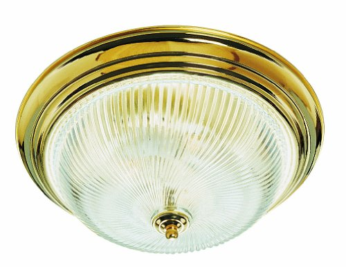 Design House 507236 3 Light Ceiling Light, Polished Brass ()