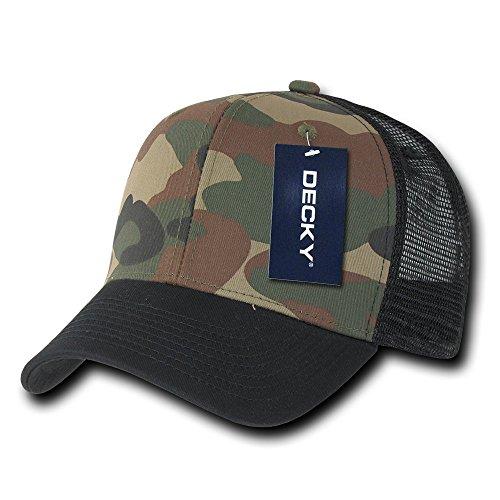 decky-cotton-curve-bill-trucker-cap-black-woodland-black