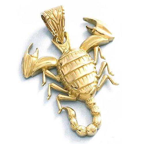 LIOR - Pendentif Or jaune 750/1000 (18kt) Scorpion