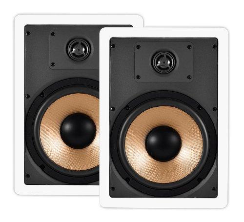 OSD Audio IW840 8-inch Polypropylene In-Wall Speaker Pair Top Deals