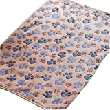 Tenworld Paw Print Pet Dog Cat Cushion Puppy Kitten Soft Blanket Doggy Warm Bed Mat (XL, Brown) Review