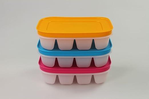 4 opinioni per TUPPERWARE Stampo Pinguino per Ghiaccio Mini rosa+ arancione+ blu 11293