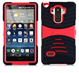 uBLACK/RED Phone Case Cover For LG G Stylo / Stylus / LS770 / H631 -  NP CITY