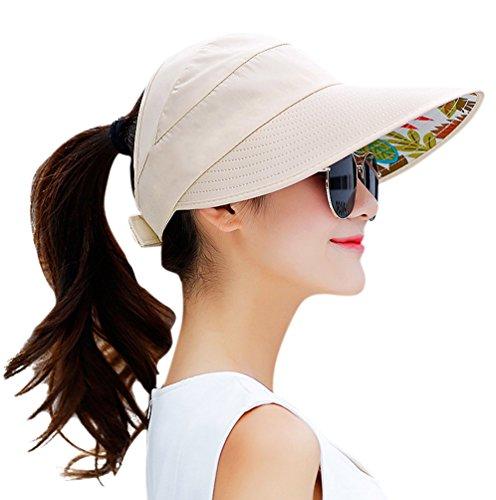 HindaWi Sun Hats for Women Visor Cap太阳帽
