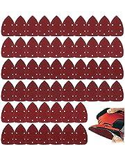60 stuks Mouse Detail Sander Schuurpapier Schuurpapier Sander Pads Mouse Sander Korrels Schuurvellen Klittenband Assortiment 40, 60, 80, 100, 120, 150, 180, 240, 320, 400 Korrels voor 140 mm schuurschuurmachine
