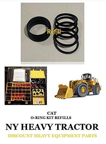 Caterpillar 1P3705 1P-3705 Seal D Ring Set Of 10 New Replacement For Caterpillar 4C4784 by Caterpillar