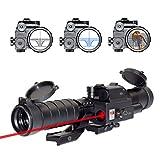 OTW Laser Reticle 3-9X32EG Rifle Scope Blue...