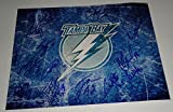 2014-15 Tampa Bay Lightning team signed 11x14 hockey logo photo w/coa Finals #2 - Autographed NHL Photos