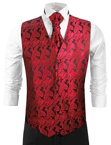 Red Tuxedo Vest - 6
