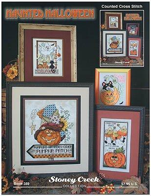 Haunted Halloween - Cross Stitch Pattern]()