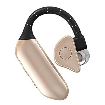 Gazechimp Auricular de Bluetooth Conectar dos Dispositivos Accesorios Bueno Electronico de Alta Calidad - Oro