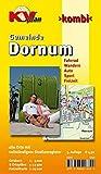 Dornum: 1:12.500 Gemeindeplan mit Freizeitkarte 1:25.000 inkl. Rad- und Wanderwegen, Ortskernkarte 1:5.000 (KVplan Ostfriesland-Region)