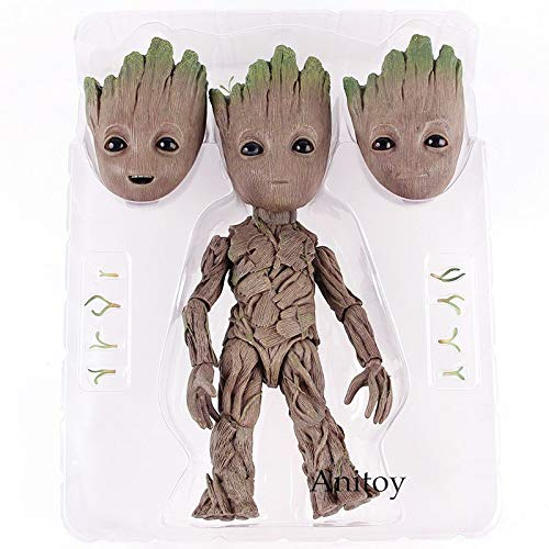 Best Quality - Action & Toy Figures - Action Figure Hot Toys Marvel Guardians of The Galaxy Vol.2 Tree Man Baby PVC Collection Model Toys - by ORSTAR - 1 PCs