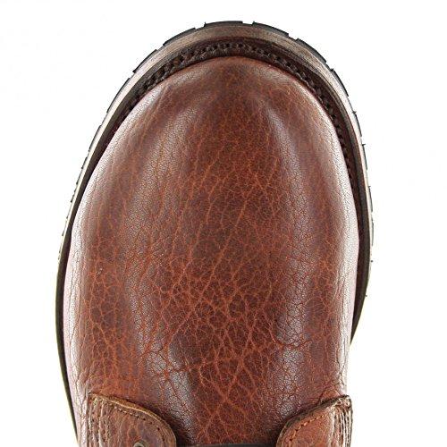 FB Fashion Boots Sendra Boots Stiefel 10604 Snuff/Schnürstiefel Braun/Urban Boots Herren/Schnürer/Stiefelette Snuff