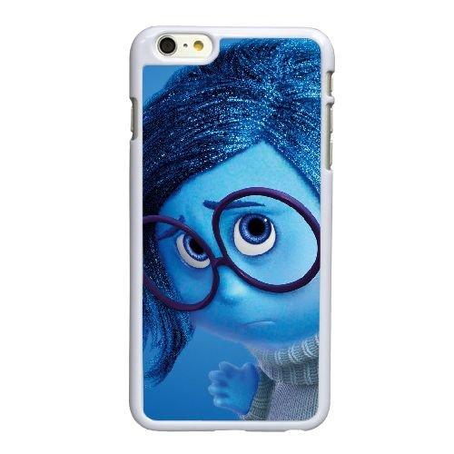 R5E22 intérieur tristesse Disney Pixar R0C3VG coque iPhone 6 Plus de 5,5 pouces cas de couverture de téléphone portable coque blanche DI7DZP3UP