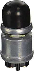 Calterm 41840 Heavy Duty Push Button Switch, 12 V, 60 A, Black