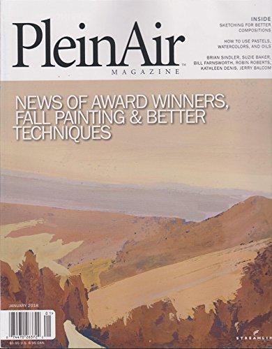 Plein Air Magazine January 2018