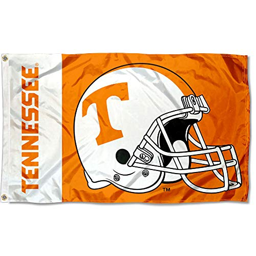 College Flags and Banners Co. Tennessee Volunteers Football Helmet Flag ()