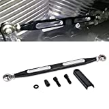 TUINCYN Deep Cut CNC Shift Linkage Lever For Harley Street Tour Glides Electra Trikes (1980-2017) Black Motorcycle Gear lever