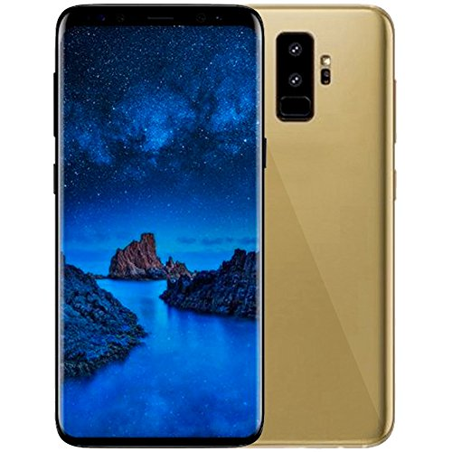 VAK Celular S9 Pantalla HD 6,2 Android Sensor De Huella Cámara 8mp 8gb (Dorado)