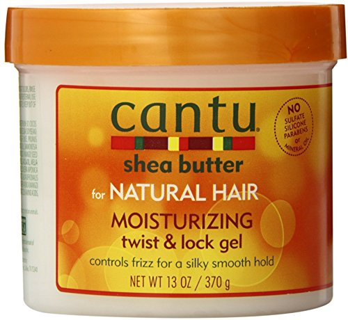 Cantu Shea Butter For Natural Hair Moisturizing Twist & Lock Gel, 13 ounce (Pack of 4) (Best Lock And Twist Gel)