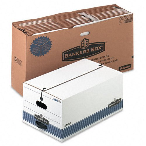 FEL00705 - Bankers Box Stor/File - Legal, String Button