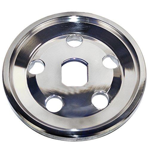 Empi 33-1041 Billet 12Volt Alternator/Generator Pulley, Outer Half W/Metal -